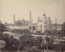 Taj Replica in the Husainabad Imambara, Lucknow, seen from the terrace
